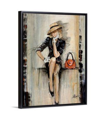 """'Vogue' Framed Canvas Wall Art, 18"""" x 24"""""""