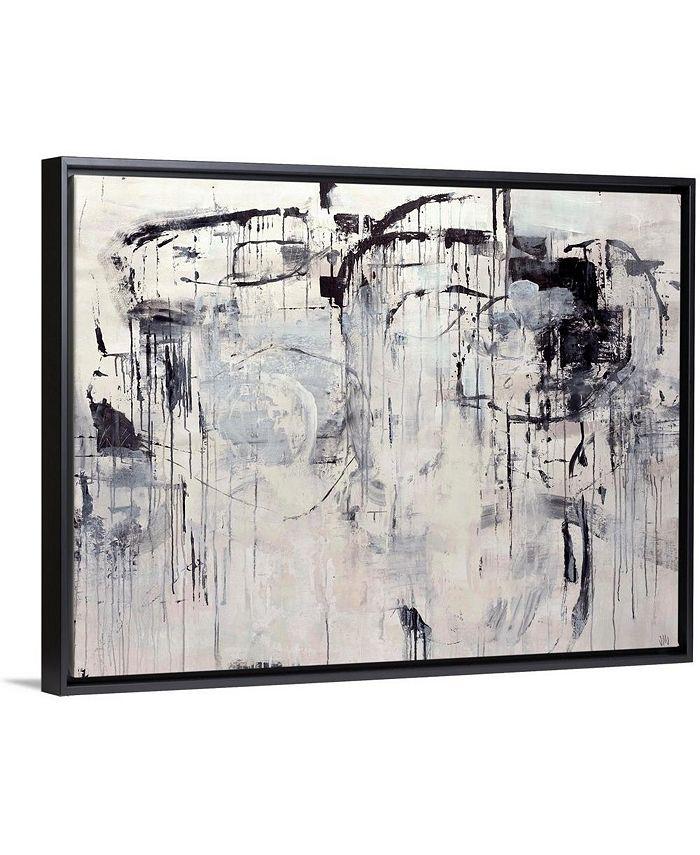 """GreatBigCanvas - 40 in. x 30 in. """"Linear Space"""" by  Jodi Maas Canvas Wall Art"""