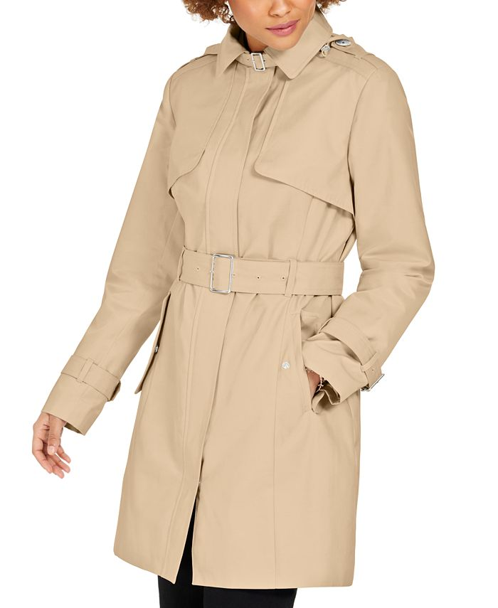 Cole Haan - Belted Buckle Trench Coat