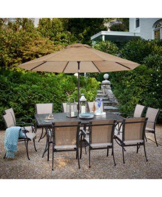 Beachmont II Outdoor 11-Pc. Dining Set (84