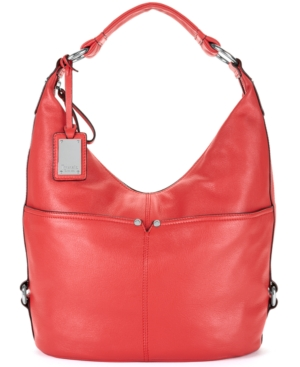 Tignanello Handbag,  Polished Pockets Leather Hobo