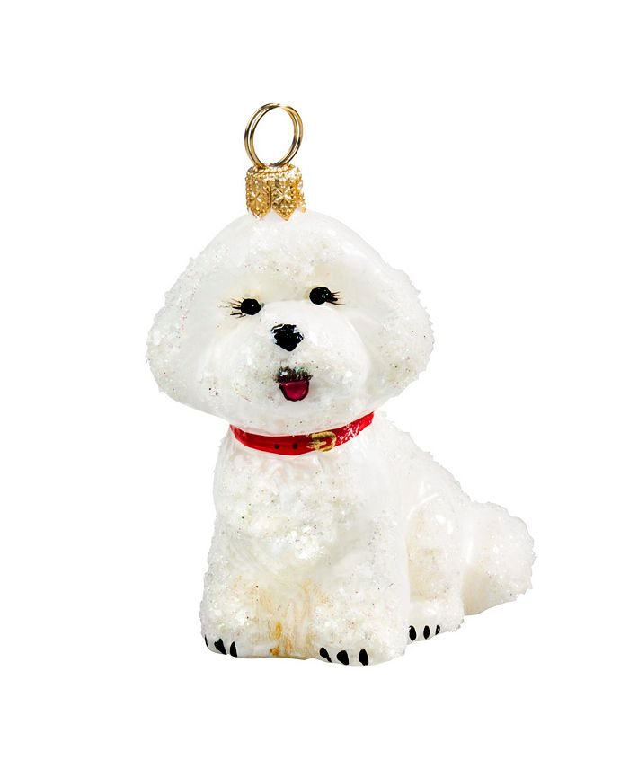 Joy to the World - Bichon Frise - Snowy Version