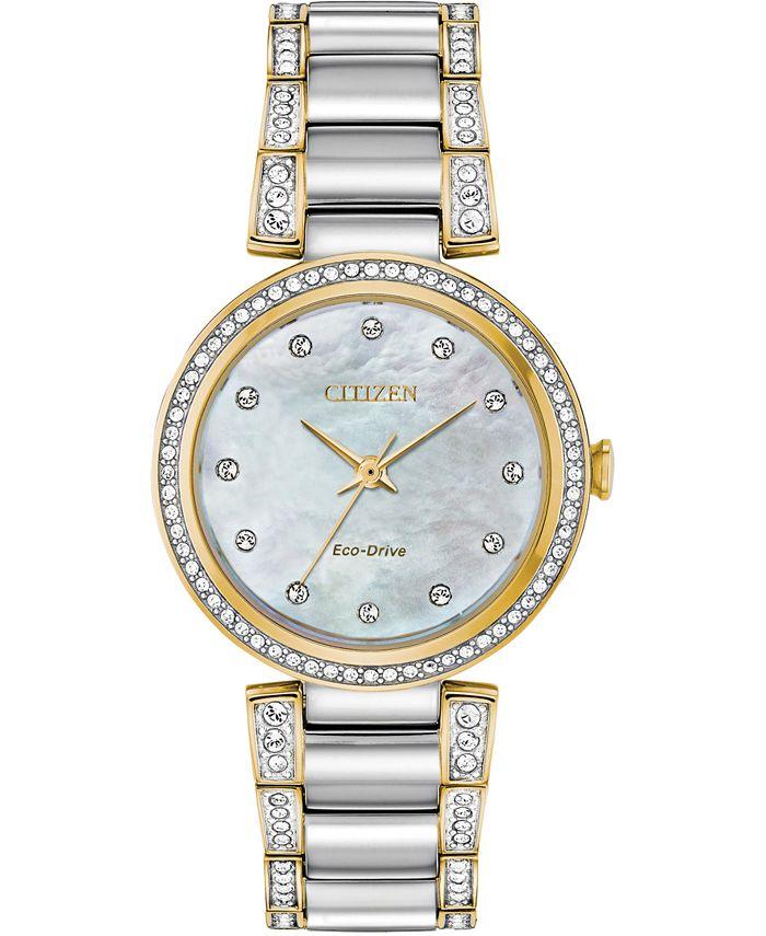 Citizen - Women's Silhouette Two-Tone Stainless Steel Bracelet Watch 28mm