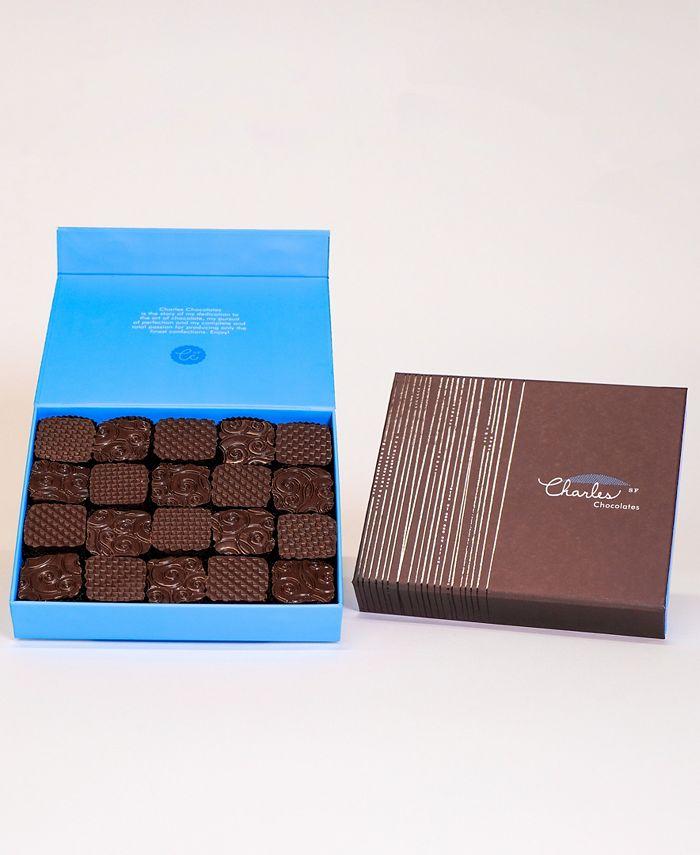 Charles Chocolates - Fleur de Sel Caramel Collection, Large Box (20 piece)