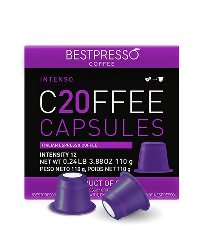 Bestpresso - Intenso Flavor 20 Capsules per Pack