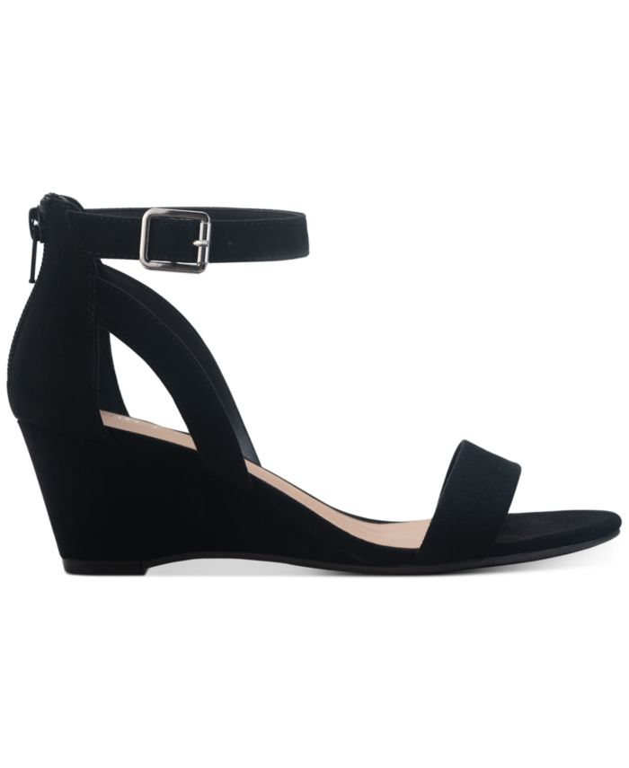 Sun + Stone Jossie Wedge Sandals, Created for Macy's & Reviews - Sandals - Shoes - Macy's