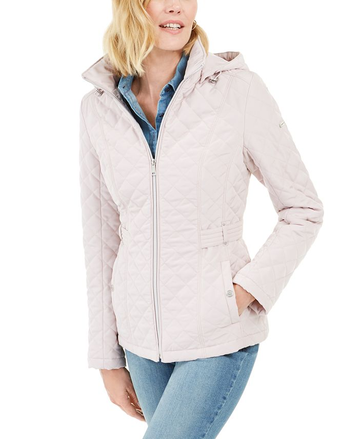 Laundry by Shelli Segal - Hooded Quilted Anorak Jacket