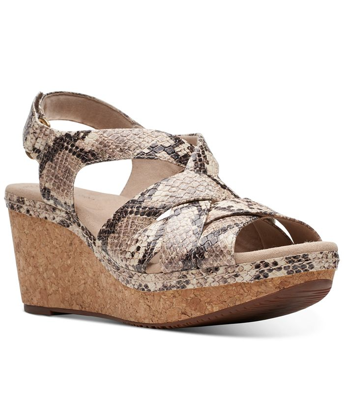 Clarks - Women's Annadel Rayna Wedge Sandals