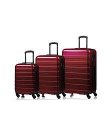 Champs Ice Hardside 3-Pc. Luggage Set