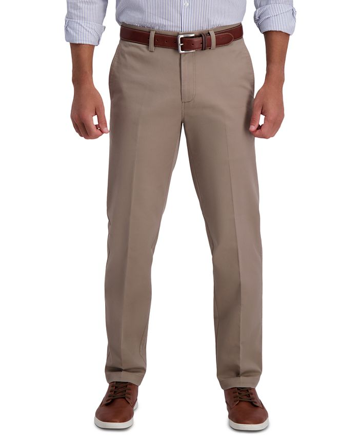 Haggar - Men's Premium Comfort Classic-Fit Stretch Dress Pants