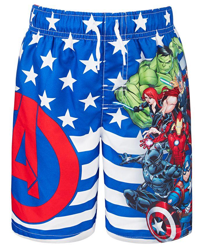 Dreamwave - Little Boys Avengers Swim Trunks