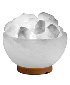 Evolution Salt Co. Fire Bowl Himalayan Salt Lamp
