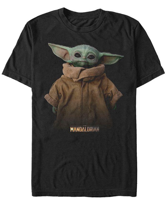 Star Wars - Men's  The Mandalorian The Child Jacket Portrait Short Sleeve T-Shirt