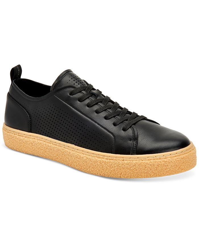 Calvin Klein - Men's Everett Small Grain Sneakers