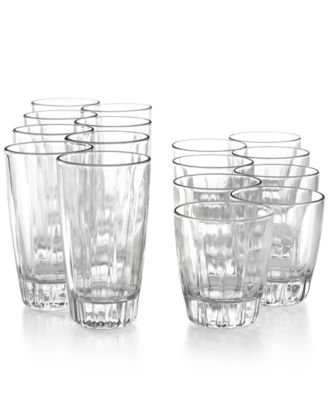 The Cellar Glassware, Georgia 16-Piece Set