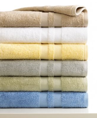 "Image of Sunham Bath Towels, Supreme 13"" Square Washcloth, Only at Macy's"