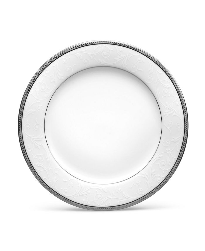 "Noritake - Regina Platinum Salad Plate, 8-1/4"""