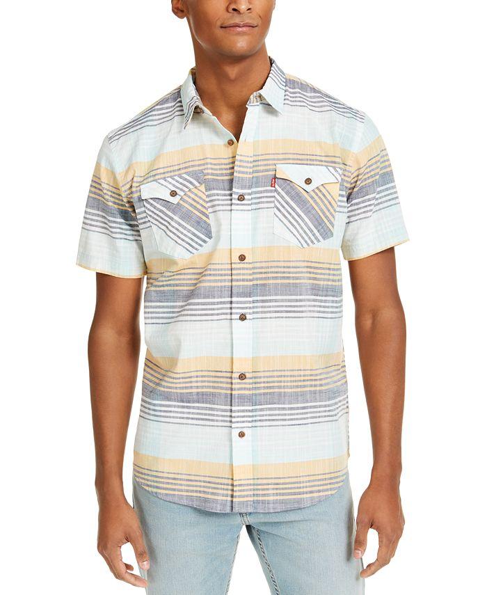 Levi's - Men's Carvers Stripe Shirt