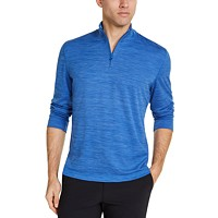 Deals on Club Room Men's Quarter-Zip Tech Sweatshirt