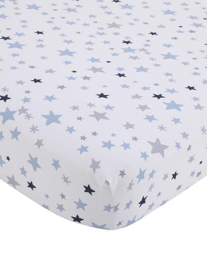 NoJo - NoJo Star Print Fitted Crib Sheet