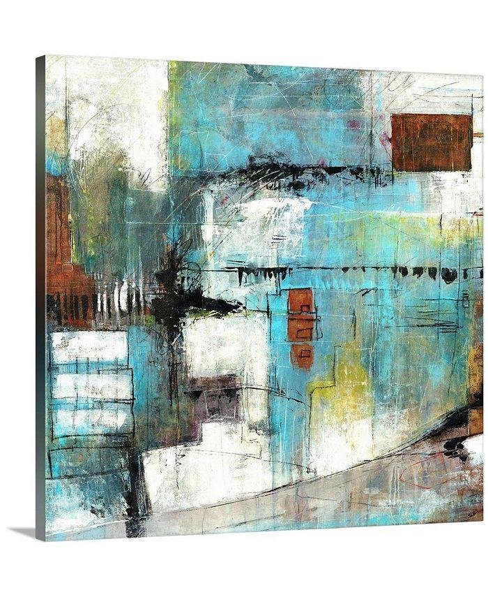 """GreatBigCanvas - 36 in. x 36 in. """"Chance"""" by  Joshua Schicker Canvas Wall Art"""