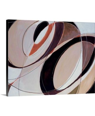 """30 in. x 24 in. """"Modern Times"""" by  Sydney Edmunds Canvas Wall Art"""