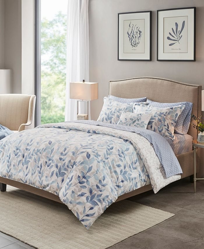 Madison Park Essentials - Sofia Reversible 8-Piece King Bedding Set