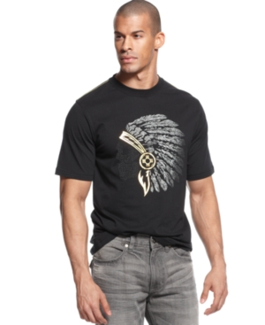 Sean John TShirt Warpath Short Sleeve Graphic TShirt