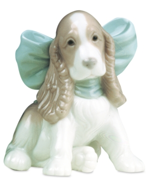 Nao by Lladro Collectible Figurine, Puppy Present