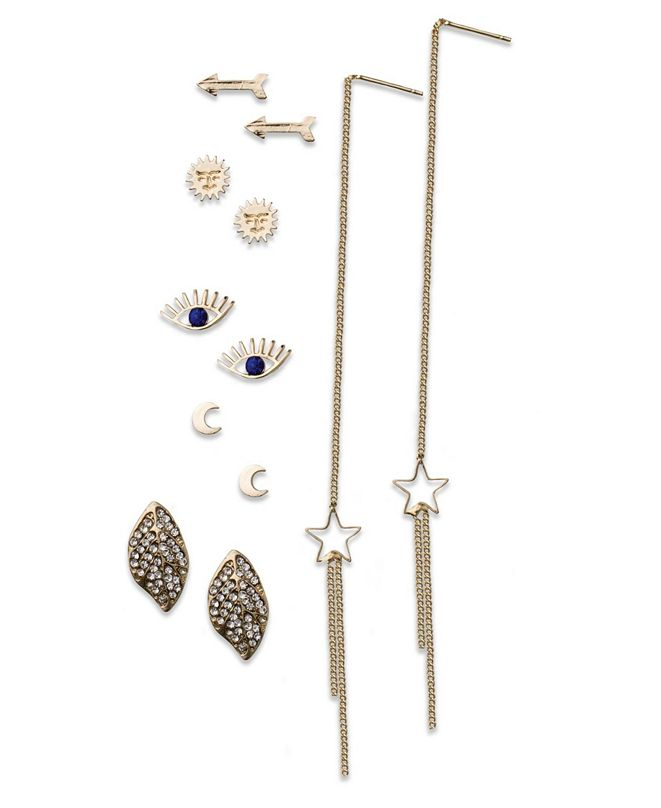 True Love Accessories Celestial, Evil Eye Studs and Linear Sets
