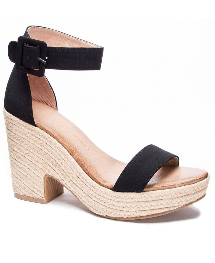 Chinese Laundry - Queen Wedge Sandals
