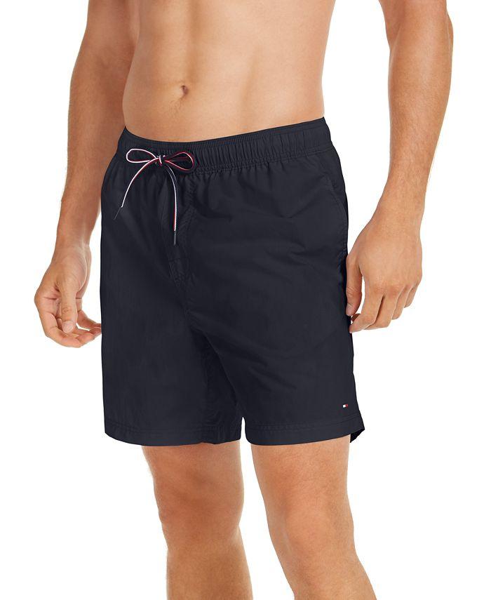 Tommy Hilfiger - Men's Solid Board Shorts
