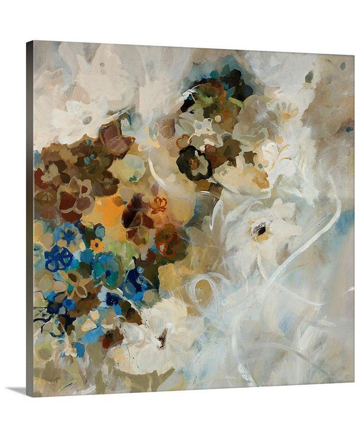 "GreatBigCanvas - 24 in. x 24 in. ""French Flowers"" by  Jodi Maas Canvas Wall Art"