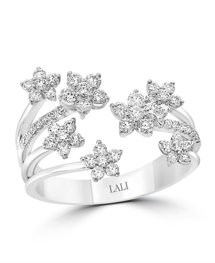 LALI Jewels - Diamond (3/4 ct. t.w.) Ring in 14K White Gold