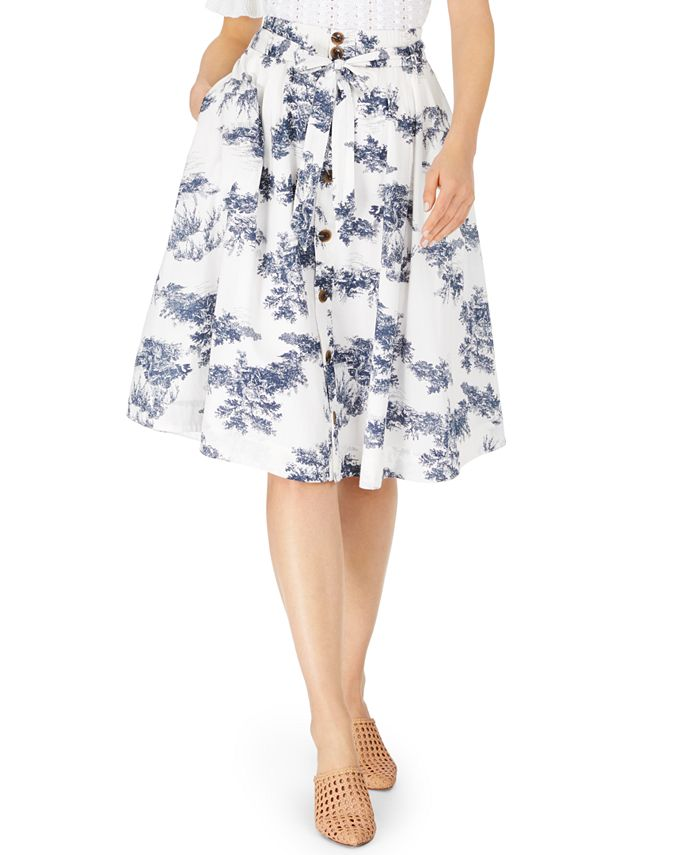 Inc International Concepts Inc Toile Midi Skirt Created For Macy S Reviews Skirts Women Macy S
