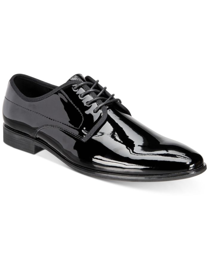 INC International Concepts INC Men's Dorodo Patent Leather Oxfords, Created for Macy's & Reviews - All Men's Shoes - Men - Macy's