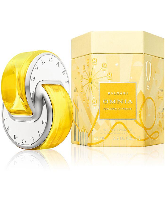BVLGARI - Omnia Golden Citrine Limited Edition Eau de Toilette, 2.2-oz.