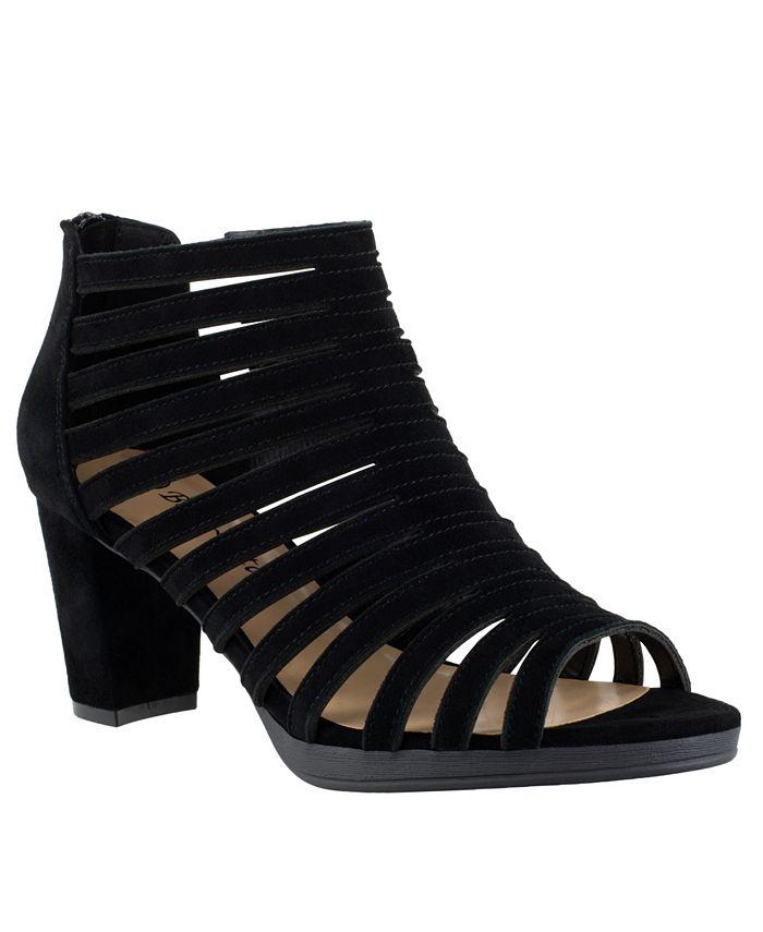 Bella Vita - Maise Block Heel Caged Sandals