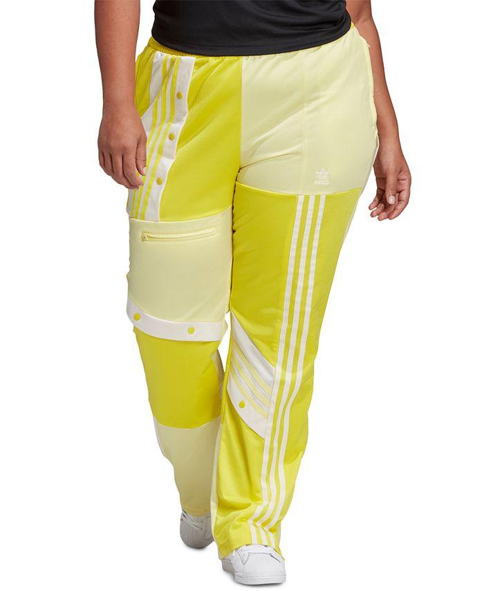 adidas - Plus Size Striped Pocket Pull-On Pants