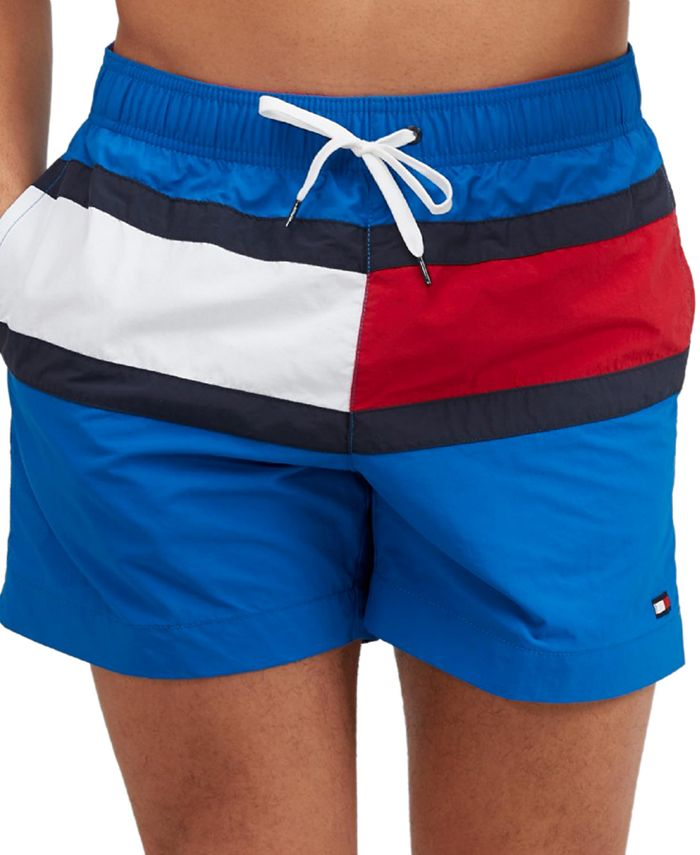 Tommy Hilfiger - Men's Tommy Flag Swim Trunks