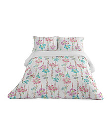 Colorfly Marjorie 3 Piece Duvet Set, King