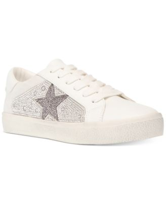 Philip Rhinestone Lace-Up Sneakers
