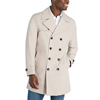 Michael Kors Bennet Classic-Fit Double Breasted Trenchcoat Deals