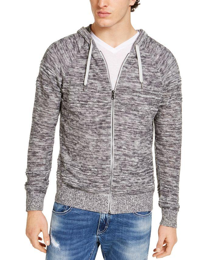 INC International Concepts - Men's Porta Hooded Zip Sweater