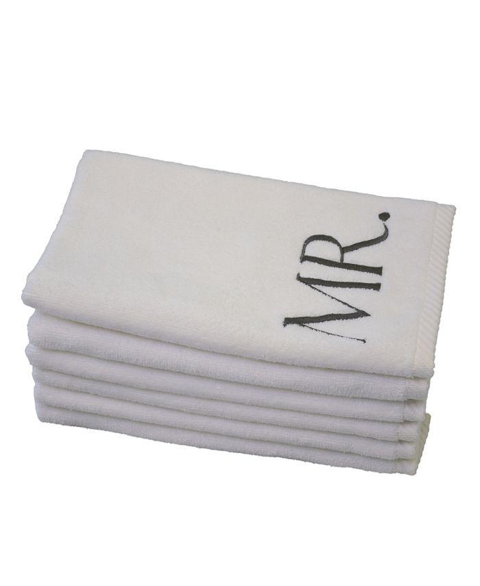 TALESMA - Monogram MRS 6-Pc. Guest Towel Set