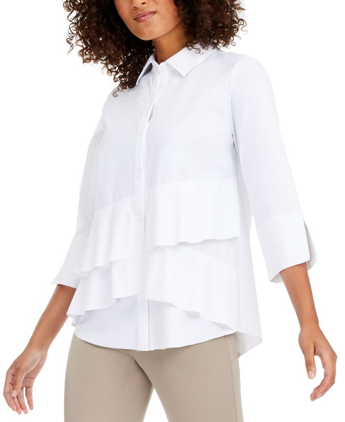 Alfani - Tiered Shirt