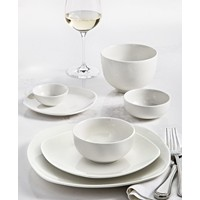 Deals on Tabletops Unlimited Whiteware 42-Piece Dinnerware Set