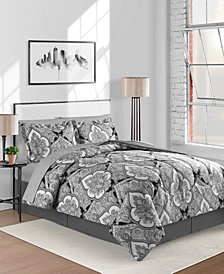 Fairfield Square Collection Gotham Reversible 8-Pc. Comforter Sets