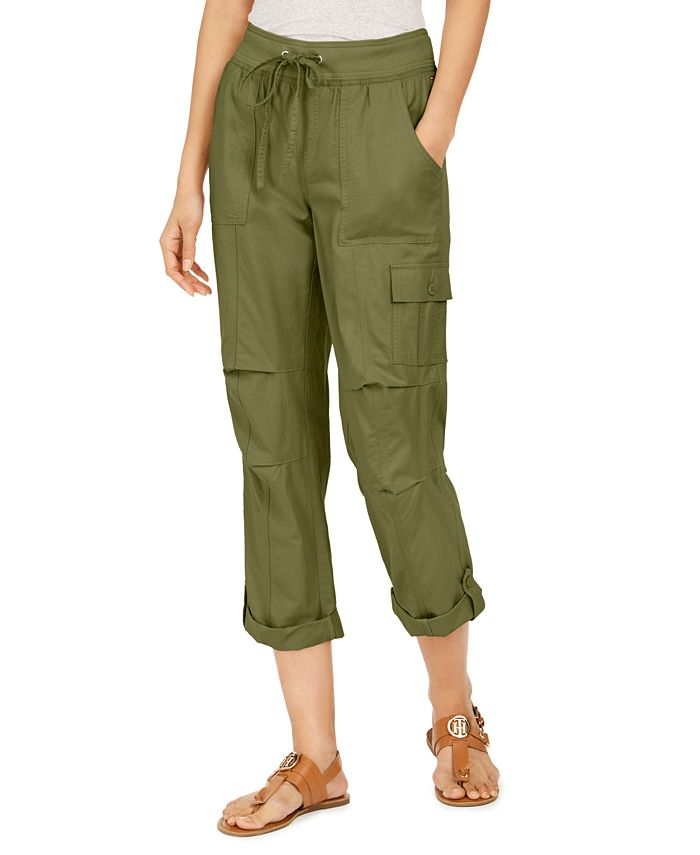 Tommy Hilfiger - Cropped Cargo Pants