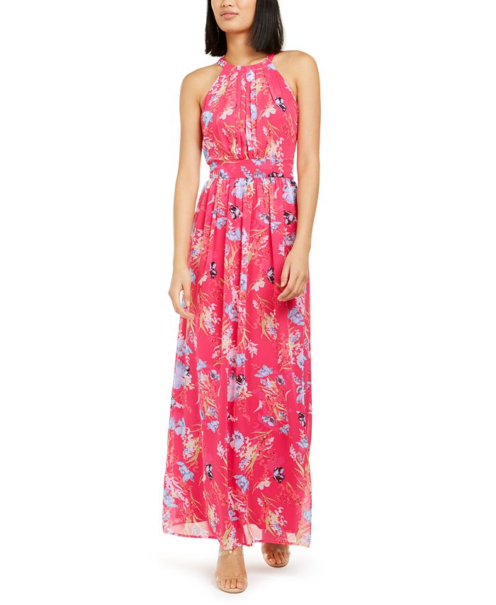 Inc International Concepts Inc Floral Print Pleated Maxi Dress Created For Macy S Reviews Dresses Women Macy S